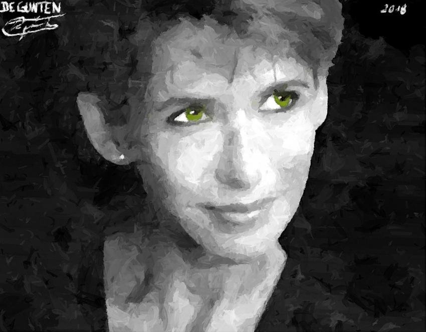 Sophie Marceau par JIM